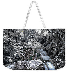 Onomea Falls In Infrared 2 Weekender Tote Bag