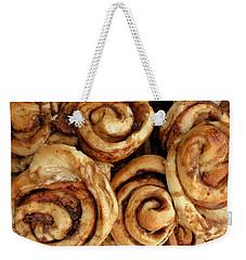 Ooey Gooey Cinnamon Buns Weekender Tote Bag