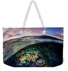 Opal Reef Off The Great Barrier Reef Weekender Tote Bag