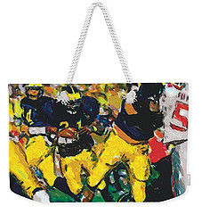 Open A Hole Weekender Tote Bag