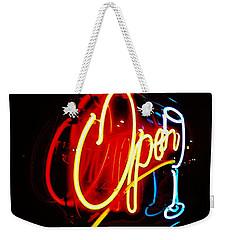 Open Weekender Tote Bag by Daniel Thompson