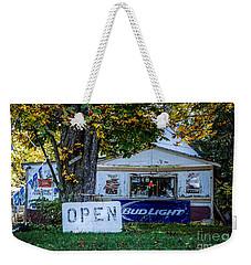 Open Or Closed Weekender Tote Bag
