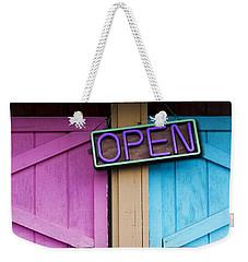 Open Weekender Tote Bag