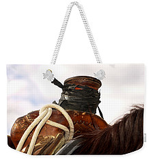 Open Range Saddle Weekender Tote Bag