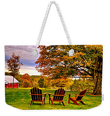 Open Seating Weekender Tote Bag