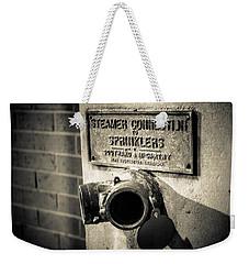 Open Sprinkler Weekender Tote Bag by Melinda Ledsome