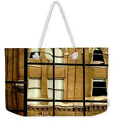 Weekender Tote Bag featuring the photograph Open Windows by Christiane Hellner-OBrien