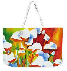 Opposites Attract Weekender Tote Bag by Kathy Braud