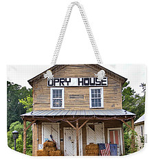 Weekender Tote Bag featuring the photograph Opry House - Square by Gordon Elwell