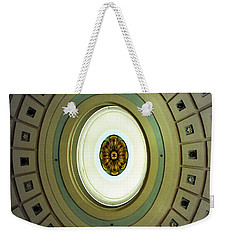 Optical Illusion  Weekender Tote Bag by Kevin Fortier
