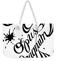 Opus Magnum Weekender Tote Bag