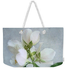 Weekender Tote Bag featuring the photograph Orange Blossom Time by Louise Kumpf