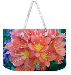 Orange Bouquet Weekender Tote Bag