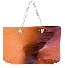 Orange Canyon Weekender Tote Bag