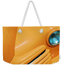 Orange Car Weekender Tote Bag