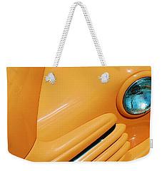 Orange Car Weekender Tote Bag by Daniel Thompson
