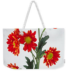 Orange Carnations Weekender Tote Bag