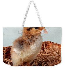 Orange Chick Weekender Tote Bag