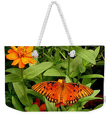 Orange Creatures Weekender Tote Bag