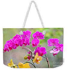 Warbler On Orchards Photo Weekender Tote Bag by Luana K Perez