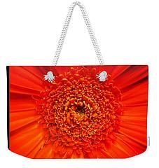Orange Weekender Tote Bag
