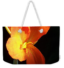 Orange Flower Canna Weekender Tote Bag