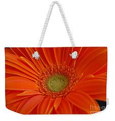 Orange Gerber Daisy Weekender Tote Bag