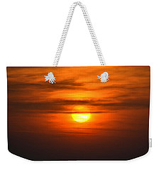 Orange Weekender Tote Bag