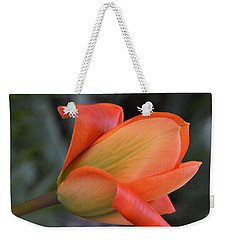 Orange Lady Weekender Tote Bag