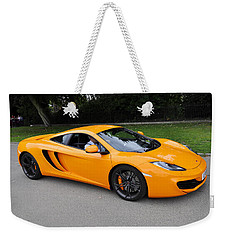 Orange Mclaren Mp4-12c Weekender Tote Bag