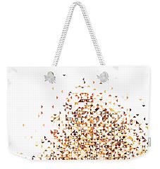 Orange Pixels Weekender Tote Bag