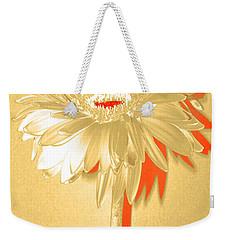 Orange Slice Zinnia Weekender Tote Bag