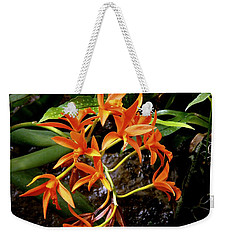 Orange Tendrils Weekender Tote Bag