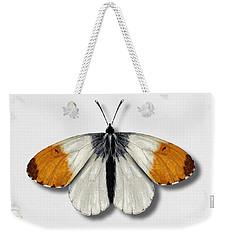 Orange Tip Butterfly - Anthocharis Cardamines Naturalistic Painting - Nettersheim Eifel Weekender Tote Bag