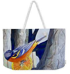 Oranges And Orioles Weekender Tote Bag