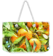 Oranges In Napoli Weekender Tote Bag