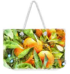 Oranges In Napoli Weekender Tote Bag by Michael Flood