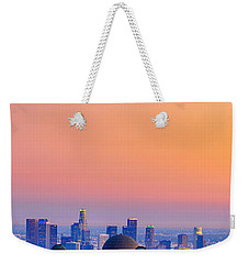 Orangesicle Griffith Observatory Weekender Tote Bag