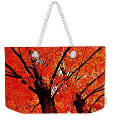 Orange...the New Green Weekender Tote Bag by Daniel Thompson