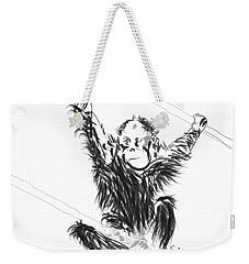 Orangutan Baby Weekender Tote Bag