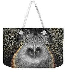 Orangutan Weekender Tote Bag by Svetlana Sewell