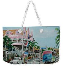 Oranjestad Aruba Weekender Tote Bag by Frank Hunter