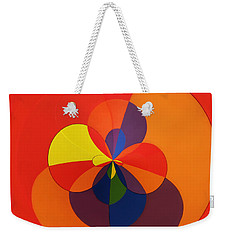Weekender Tote Bag featuring the photograph Orb 11 by Elena Nosyreva
