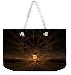 Weekender Tote Bag featuring the digital art Orb by GJ Blackman
