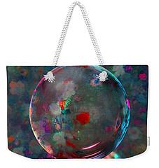 Orbed In Spring Blossom Weekender Tote Bag