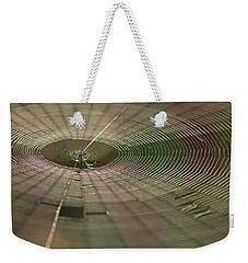 Weekender Tote Bag featuring the photograph Orchard Orbweaver #1 by Paul Rebmann