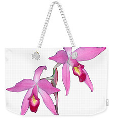 Orchid 1-1 Weekender Tote Bag by Andy Shomock