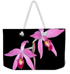 Orchid 1 Weekender Tote Bag by Andy Shomock