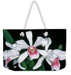 Orchid 10 Weekender Tote Bag by Andy Shomock