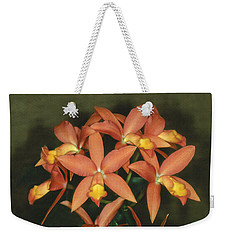 Orchid 3 Weekender Tote Bag by Andy Shomock